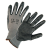 West Chester Posigrip Coated Gloves, Large, Gray/Dark Gray WSC 813-713SNF/L