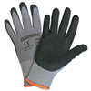 West Chester Micro Foam Nitrile Palm Coated Gloves, Large, Gray/Black WSC 813-715SNFTP/L