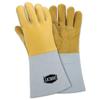 West Chester Top Grain Elk Welding Gloves, Top Grain Elk Hide, Large, Gray WSC 813-9060/L