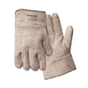 Wells Lamont Jomac Brown And White Safety Cuff Gloves, Terry Cloth, X-Large, Unlined WLL 815-644HRL