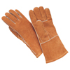 Wells Lamont Weldrite Welders Gloves, Large, Side Split Cowhide, Fr Hand Sock Lining, Brown WLL 815-Y1903L
