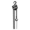 Jet S-90 Series Hand Chain Hoist, 1 Ton Cap., 20 Ft Lifting Height, 1 Fall, 60 LBF JET 825-101912