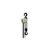 Jet S-90 Series Hand Chain Hoist, 1/2 Ton Cap., 10 Ft Lifting Ht., 1 Fall, 58 LBF JET 825-101900