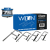 Wilton Classic Series F-Clamp Kit, 4-12 In, 2 1/4-5 1/2 In Throat, 400-1800 Lb Load Cap WLT 825-11116