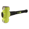 Wilton B.A.S.H Unbreakable Handle Sledge Hammer, 8 Lb Head, 16 In Ergonomic Handle WLT 825-20816