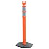 Ring Panel Link Filters Economy: Cortina - EZ Grab Delineator Post, 3 In Dia X 45 In H, Orange