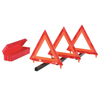Cortina Triangle Warning Kit, 3 Triangles In Living Hinge Box, 18 In, Red/Hi-Vix Orange ORS 831-95-03-009