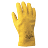 safety zone leather gloves: SHOWA - 962 Series Gloves, Large, Yellow