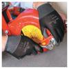 Gloves Nylon Gloves: SHOWA - Hi-Tech Polyurethane Coated Gloves, X-Large,Black/Gray