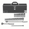 Wright Tool 24 Piece Standard & Deep Socket Sets WRT 875-425