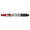 Marking Tools: Best Welds - Prime-Action +30 Paint Markers, Chisel/Bullet Tip, Red