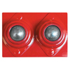 Ring Panel Link Filters Economy: Best Welds - Ball Transfer Head For V-Head Pipe Stands, Dual Ball, Carbon Steel, 1000 Lb Cap.