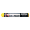Marking Tools: Best Welds - Solid Stick No.1X Paint Markers, Yellow