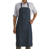 Protection Apparel: Comfort Clothing and Gloves - Denim Shop Apron, 29 In X 40 In, Cotton Denim, Blue