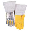 Ring Panel Link Filters Economy: Best Welds - High Heat Welding Gloves, Top Grain Cowhide, Large, Buck Tan
