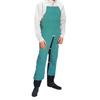 Best Welds Cotton Sateen Split Leg Bib Apron, 24 In X 42 In, Visual Green BWL 902-CA-302-S