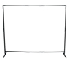 Ring Panel Link Filters Economy: Best Welds - Curtain Frame, 6 Ft X 6 Ft Expandable To 6 Ft X 8 Ft, Steel, Black