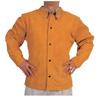 Ring Panel Link Filters Economy: Best Welds - Split Cowhide Leather Welding Jacket, Medium, Golden Brown