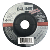 Bee Line Depressed Center Grinding Wheel, 4 1/2 Dia, 1/4 Thick, 7/8 Arbor, 24 Grit BEE 903-4121478