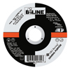 Bee Line Depressed Center Grinding Wheel, 4 1/2 Dia, 1/8 Thick, 7/8 Arbor, 36 Grit BEE 903-4121878