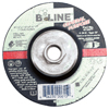 Bee Line Depressed Center Grinding Wheel, 4 1/2 Dia, 1/4 Thick, 5/8-11 Arbor, 24 Grit BEE 903-41247T