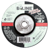 Bee Line Depressed Center Grinding Wheel, 5 Dia, 1/4 Thick, 5/8-11 Arbor, 24 Grit BEE 903-547T