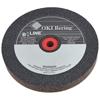 Bee Line Straight Resinoid Wheel, 6 Dia, 3/4 Thick, 1 Arbor, Medium Grit BEE 903-6341M