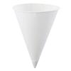 Konie Cups Paper Cone Cups, 10 oz, White, 1,000 Per Case KCI 398-10.0KRF