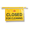 Rubbermaid Commercial Site Safety Hanging Sign RCP 9S15 YEL