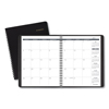 Clean and Green: Monthly Planner, 8 3/4 x 6 7/8, Black, 2019-2020