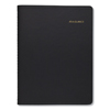calendars: Two-Person Group Daily Appointment Book, 8 x 10 7/8, Black, 2019