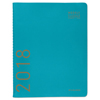 Clean and Green: Contemporary Monthly Planner, 9 1/2 x 11 1/8, Teal, 2019