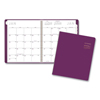 Clean and Green: Contemporary Monthly Planner, 9 1/2 x 11 1/8, Purple, 2019