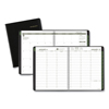calendars: Recycled Weekly/Monthly Classic Appointment Book, 8 1/4 x 10 7/8, Black, 2019