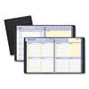 At A Glance QuickNotes Weekly/Monthly Planner, 9 7/8 x 8, Black, 2019-2020 AAG761105