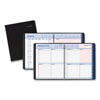 At A Glance QuickNotes Weekly/Monthly Appointment Book, 8 x 10, Black/Pink, 2021 AAG76PN0105