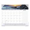 At A Glance Seascape Panoramic Desk Pad, 22 x 17, 2021 AAG89803