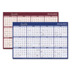 At A Glance AT-A-GLANCE® Reversible Horizontal Erasable Wall Planner AAG A102