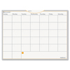 At A Glance WallMates Self-Adhesive Dry Erase Monthly Planning Surface, 24 x 18 AAG AW502028