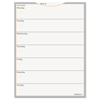 At A Glance WallMates Self-Adhesive Dry Erase Weekly Planning Surface, 18 x 24 AAG AW503028