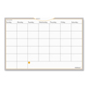 At A Glance WallMates Self-Adhesive Dry Erase Monthly Planning Surface, 36 x 24 AAG AW602028