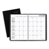 Clean and Green: Academic Monthly Planner, 11 7/8 x 7 7/8, Black, 2019-2020