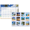 At A Glance AT-A-GLANCE® Tropical Escape Wall Calendar AAG DMWTE828