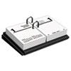 At A Glance Desk Calendar Base, Black, 3 x 3 3/4 AAG E1900