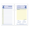 calendars: QuickNotes Desk Calendar Refill, 3 1/2 x 6, 2019