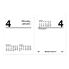 At A Glance Compact Desk Calendar Refill, 3 x 3 3/4, White, 2020 AAGE91950