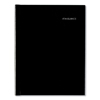 Clean and Green: Hardcover Weekly Appointment Book, 8 x 11, Black, 2019