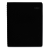 Clean and Green: Four-Person Group Daily Appointment Book, 7 7/8 x 11, Black, 2019