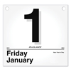 At A Glance AT-A-GLANCE® Today Is Daily Wall Calendar Refill AAG K450