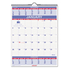 At A Glance AT-A-GLANCE® Three-Month Wall Calendar AAG PM1028